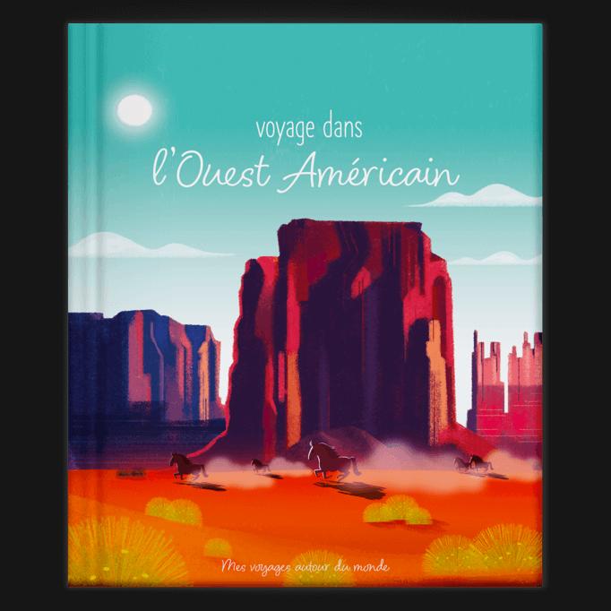 Son voyage dans l'Ouest Américain