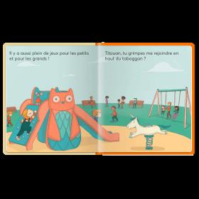 Votre garçon va au parc