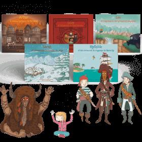 Le Pack Aventures 5 contes - Saison 2 pour PRENOM