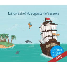 Carnet de jeux - Les corsaires de l'île de Baranka - PDF
