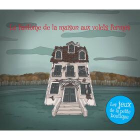 Carnet de jeux - Le fantôme de la maison aux volets fermés - PDF