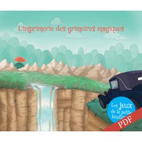 Carnet de jeux - L'imprimerie des grimoires magiques - PDF