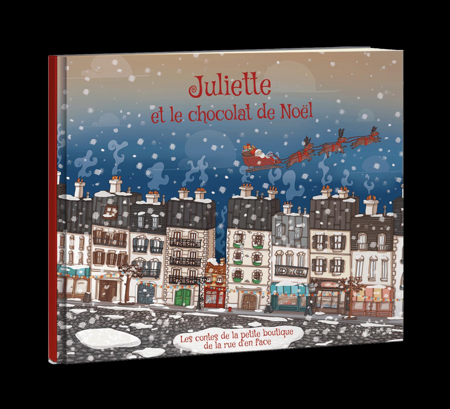 Le Chocolat De Noel Livre Personnalise De Noel