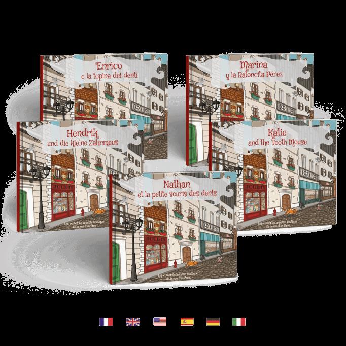 Livre traduit en 5 langues