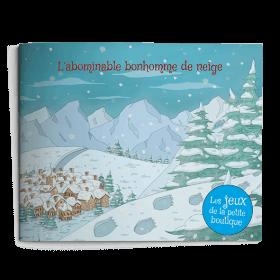 Carnet de jeux - L'abominable bonhomme de neige