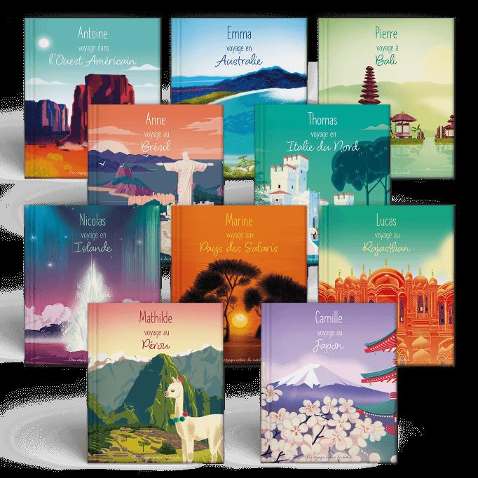 La collection intégrale des 10 destinations de Mes Voyages Autour du monde