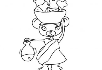 Coloriage Micromys