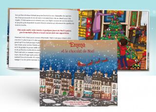 Le livre personnalisable sur Noël, une merveilleuse idée cadeau