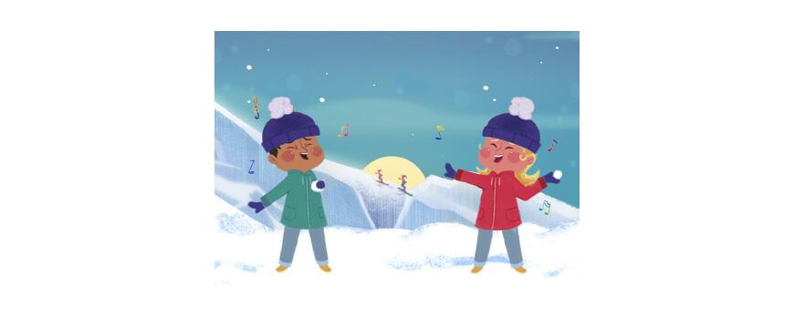 Voyager en hiver avec les livres de la boutique Les Enfants Roy